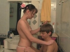Filthy legal age teenager playgirl enjoys fucking out of any hesitation at all